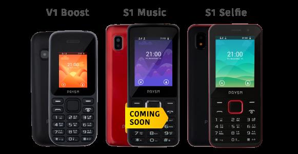 Prysm Feature Mobile Phones